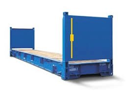 Conteneur Flat Rack Transports Clauni
